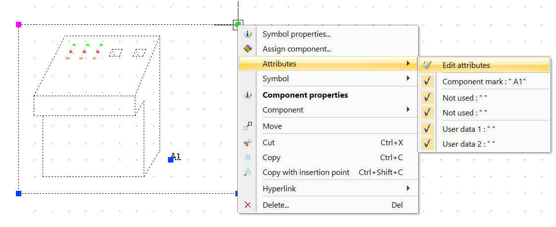 How To Modify The Orientation Of A Component Symbol Mark