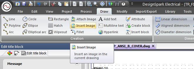 Can I modify the Titleblock Design? – DesignSpark Support