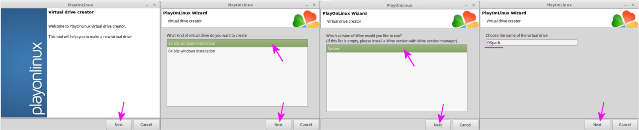 How To Install Designspark Pcb On Linux With Wine Of Wizard Standard Editions Will Allow You Design New Circuits Then Name The Virtual Drive As Prefer Dspark Is Good A Any And We Refer From Here